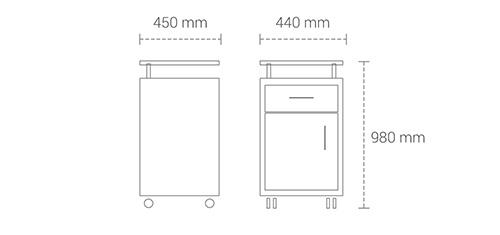 Dimensions Graphic