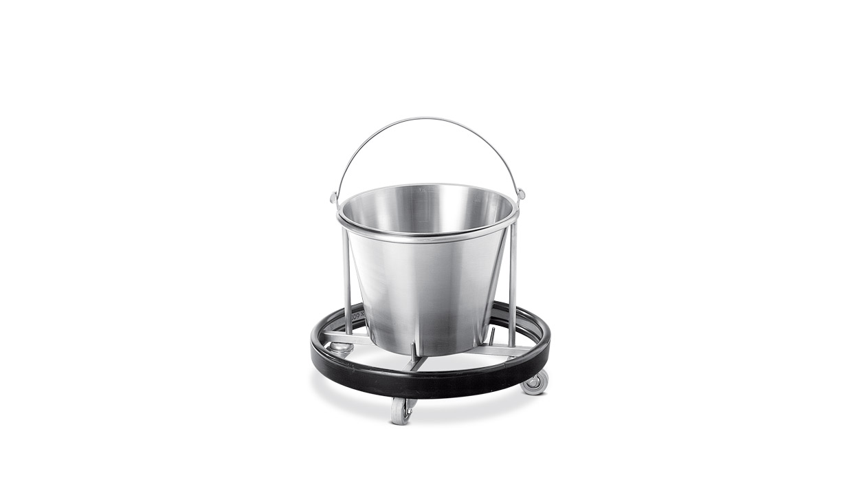 Psiliakos - Inox Bucket with Base