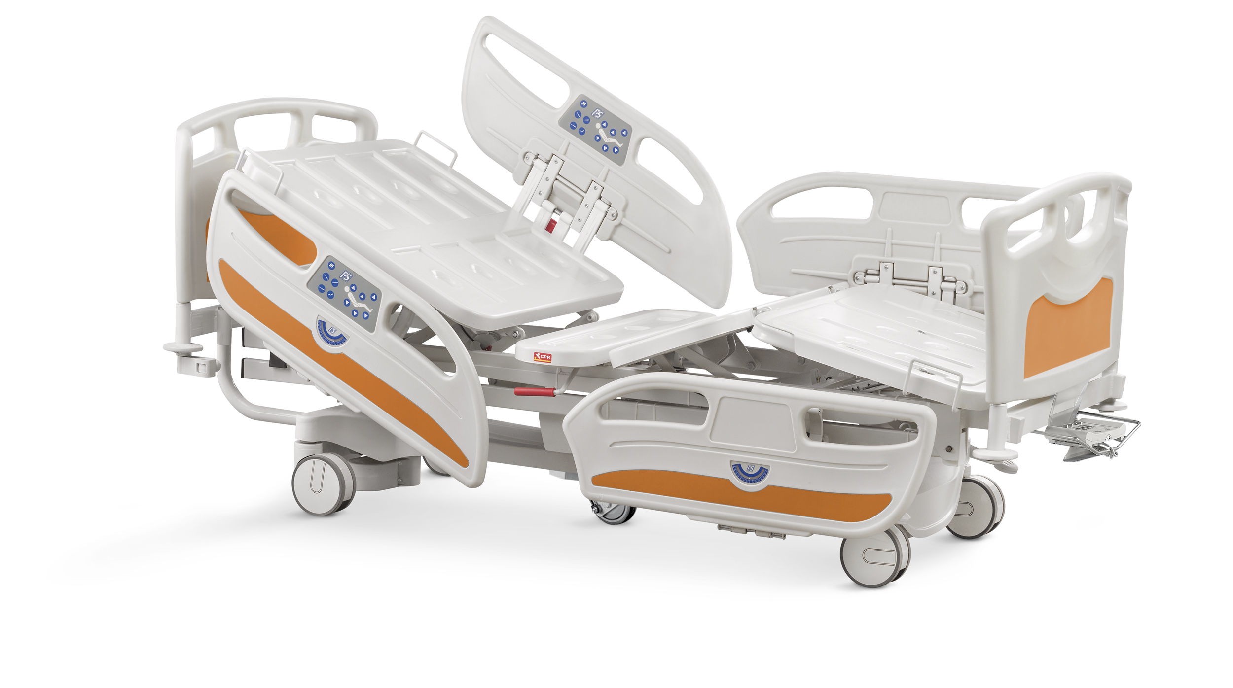 Psiliakos 5303 Series Hospital Bed with 5th wheel